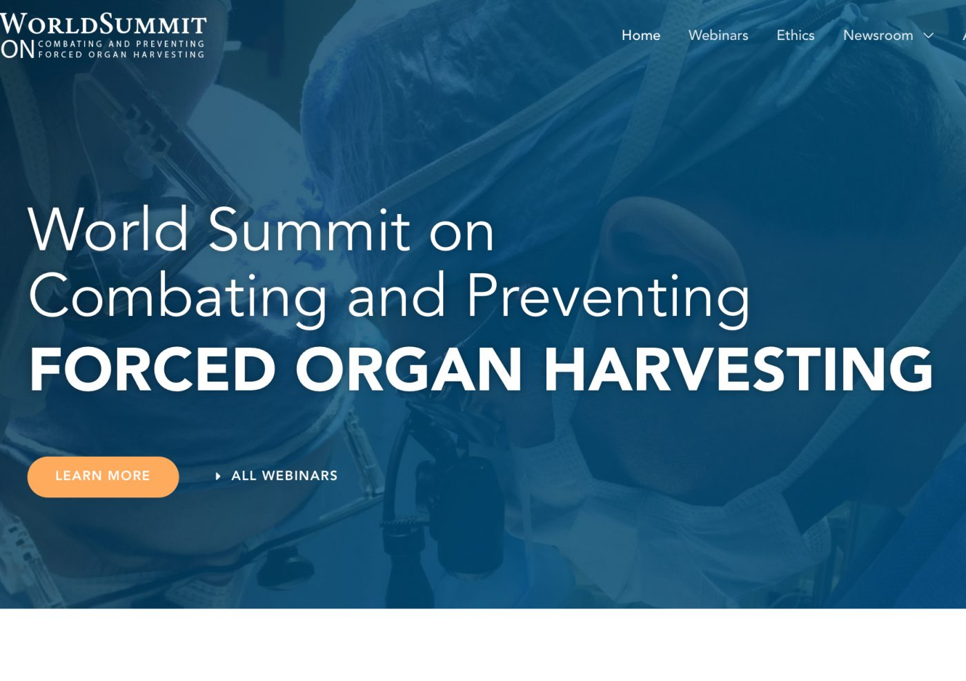World Summit on Combating and Preventing Forced Organ Harvesting